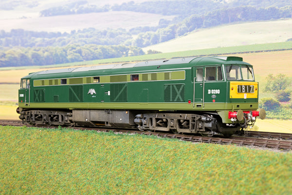 Heljan 7mm Finescale O Gauge 5351 BR Green Class 53 'D0280' 'Falcon' DCC Sound!