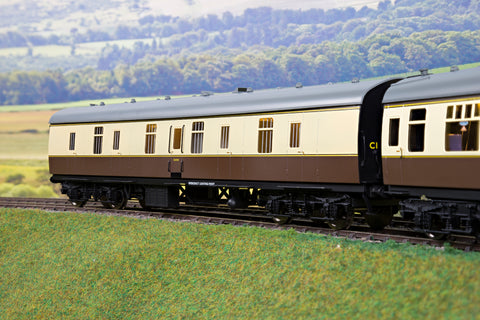 Darstaed Finescale O Gauge D22-2 Mk1 57' BG, Chocolate & Cream