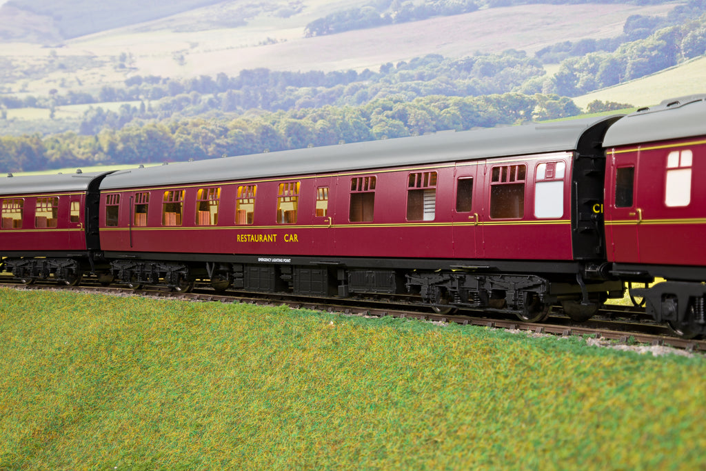 Darstaed 7mm O Gauge Finescale Maroon BR Mk1 RU (Restaurant/Kitchen)
