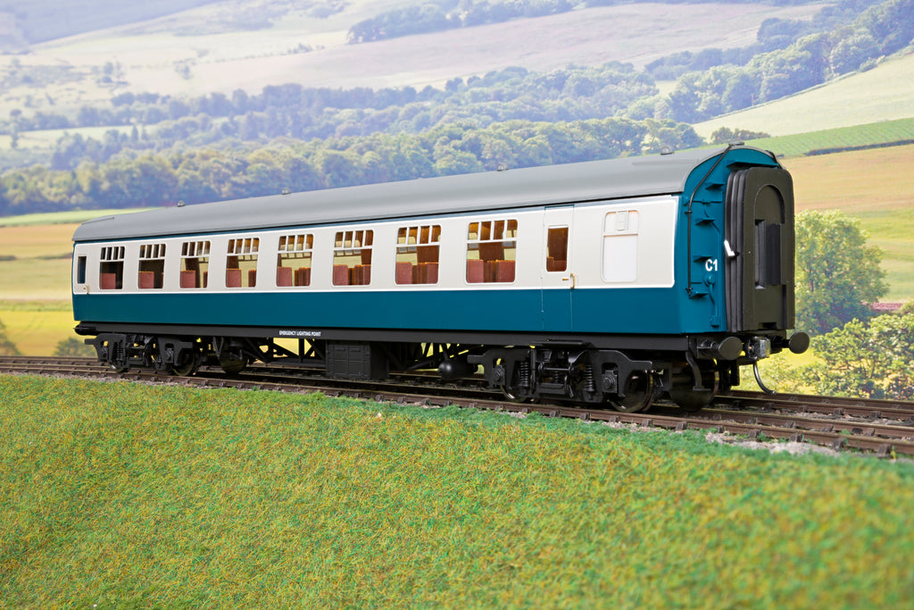 Darstaed 7mm O Gauge Finescale Blue & Grey BR Mk1 RSO (Restaurant Second Open)