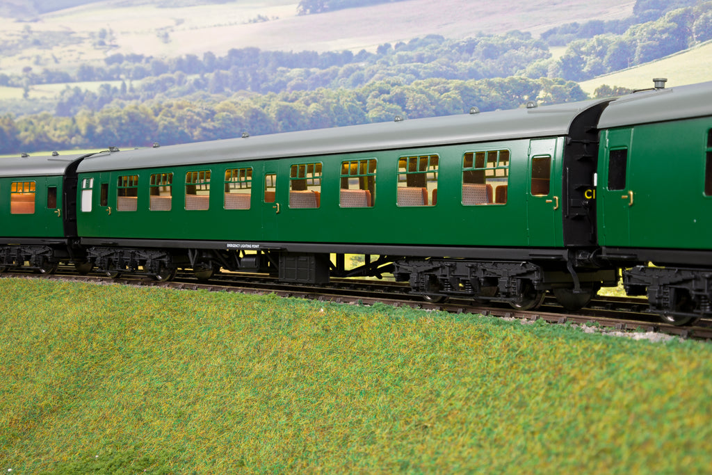 Darstaed 7mm O Gauge Finescale Southern Green BR Mk1 TSO (Tourist Second Open)