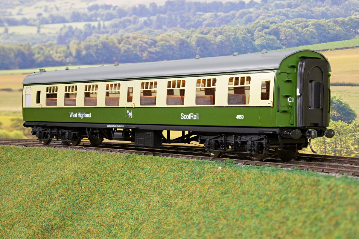 Darstaed D21-7-A Finescale O Gauge BR Mk1 West Highland (Early) 3 Coach Set