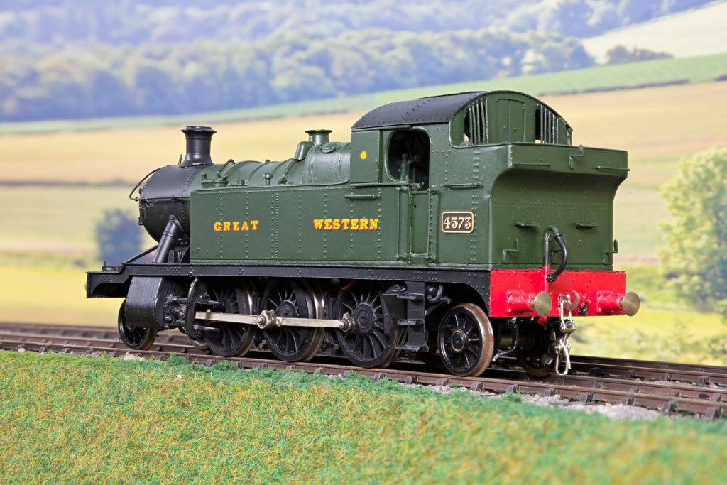 7mm Finescale O Gauge Kit Built GWR Green 45XX 2-6-2T '4573' DCC!