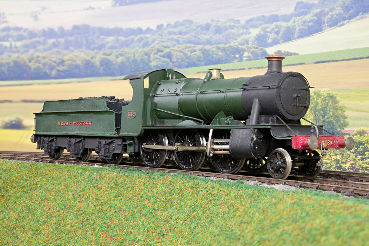 7mm Finescale O Gauge Scratch Built GWR Green 43XX 2-6-0 '4336' DCC Fitted!