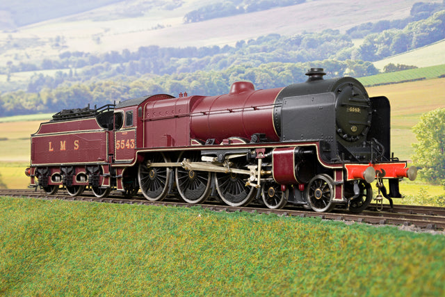 7mm Finescale O Gauge Kit Built LMS Lined Maroon Patriot 4-6-0 '5543'