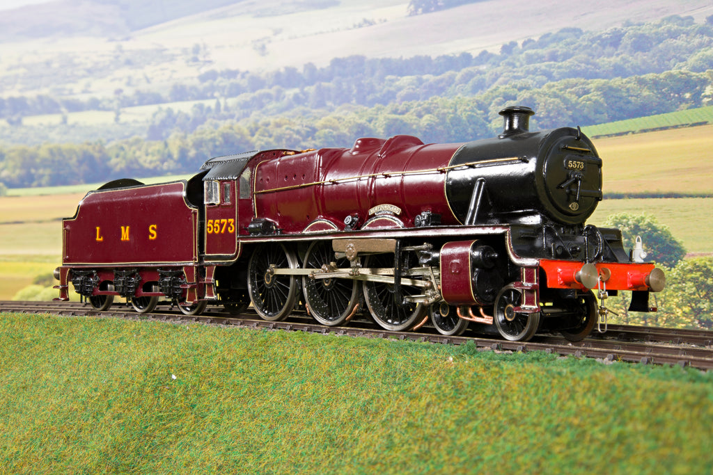 7mm Finescale O Gauge Kit Built LMS Maroon Jubilee 4-6-0 '5573' 'Newfoundland'