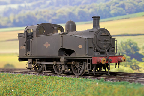 Sancheng/Finescale Brass 7mm O Gauge Finescale BR Black 0-6-0 J50 '68976' Late Crest, TMC Weathered!