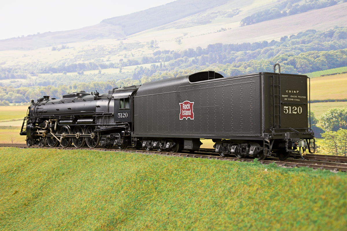 KTM O Gauge 2903 Rock Island Black 4-8-4 '5120'