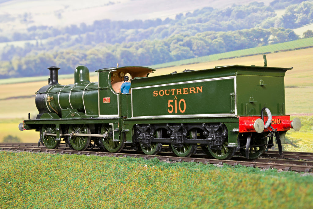 7mm Finescale O Gauge Kit Built SR Lined Green C Class 0-6-0 '510'