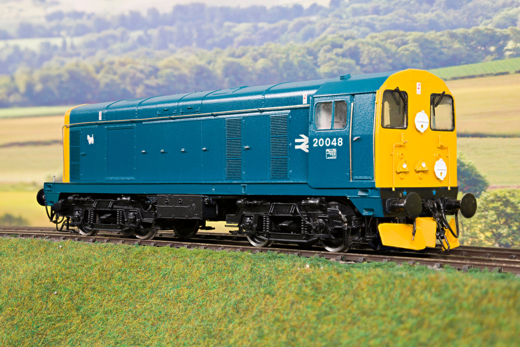 7mm Finescale O Gauge Kit Built BR Blue Class 20 '20048'