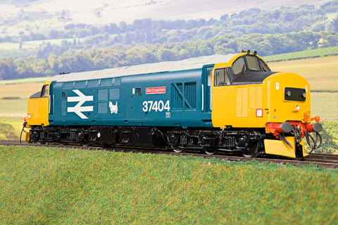 7mm Finescale O Gauge Kit Built BR Blue Class 37 '37404' 'Ben Cruachan'