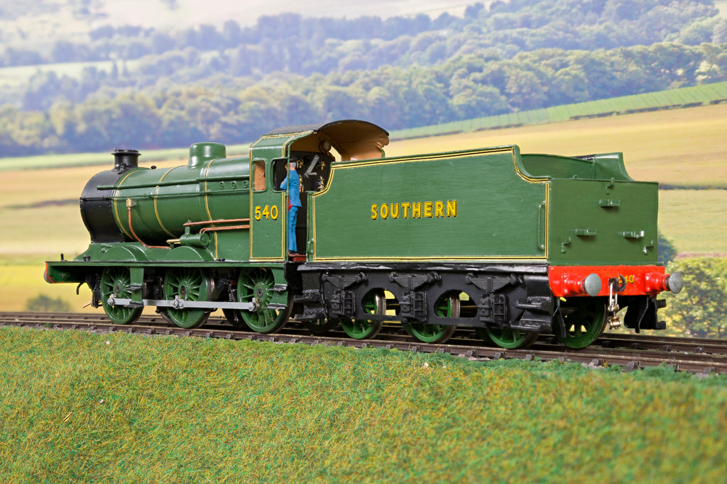 7mm Finescale O Gauge Kit Built SR Lined Green Q Class 0-6-0 '540'