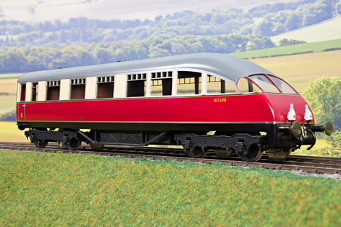 Golden Age Models 7mm Finescale O Gauge LNER Crimson and Cream Beaver Tail Coach 'E1729E'
