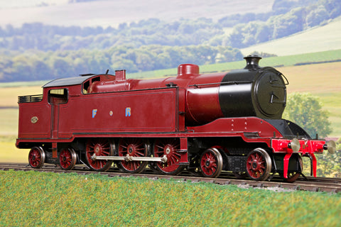7mm Finescale O Gauge Kit Built FR Lined Red Furness Baltic 4-6-4T '116'