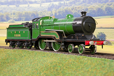 7mm Finescale O Gauge Kit Built LNER Lined Green D10/11 4-4-0 '5506' 'Butler Henderson'