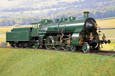 Felix Spring O Gauge K.BAY.STS.B S3/6 4-6-2 Steam Locomotive '350' DCC Fitted!