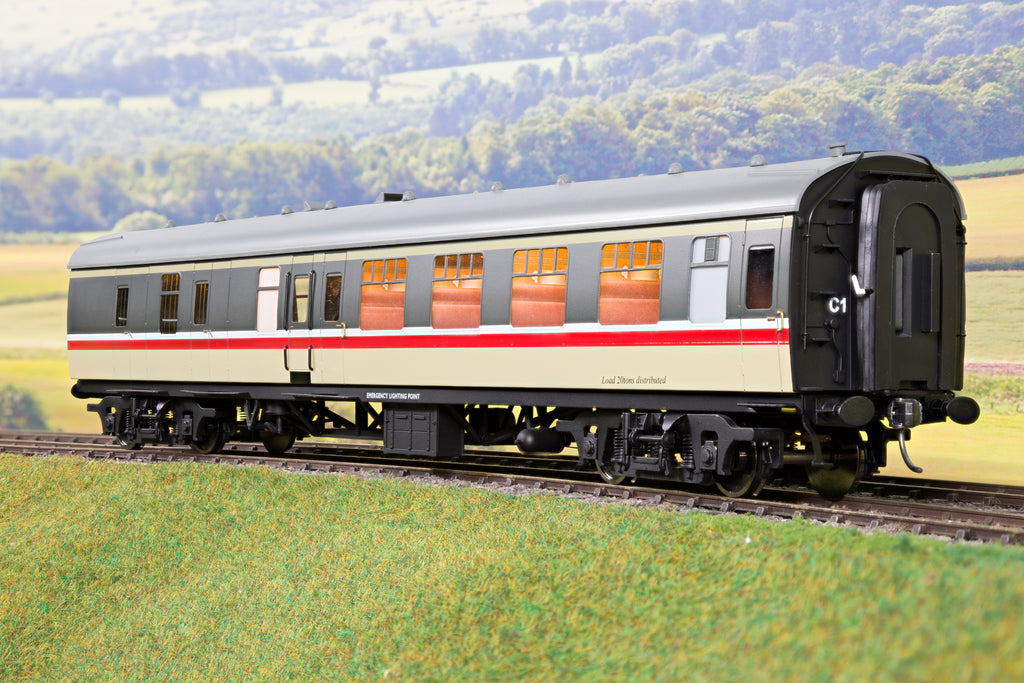 Darstaed 7mm O Gauge Finescale Intercity BR Mk1 BSK Brake Second Class