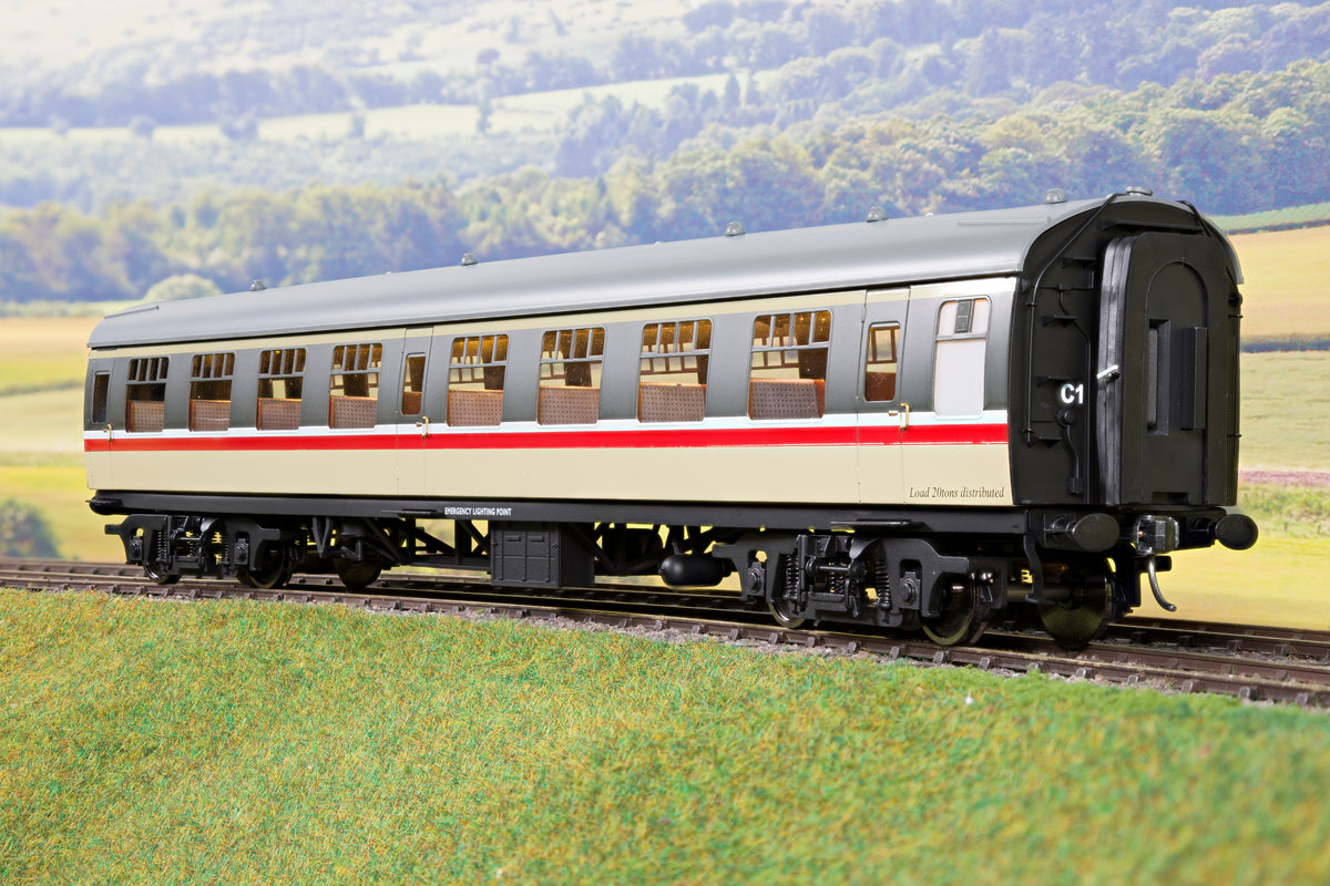 Darstaed D21-6-06 Finescale O Gauge BR Mk1 TSO (Tourist Second Open), Intercity