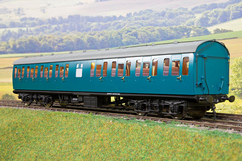 Darstaed D23-6-4 7mm Finescale O Gauge BR 57' Mk1 Second Open w Lavatory (SLO) Coach, BR Blue