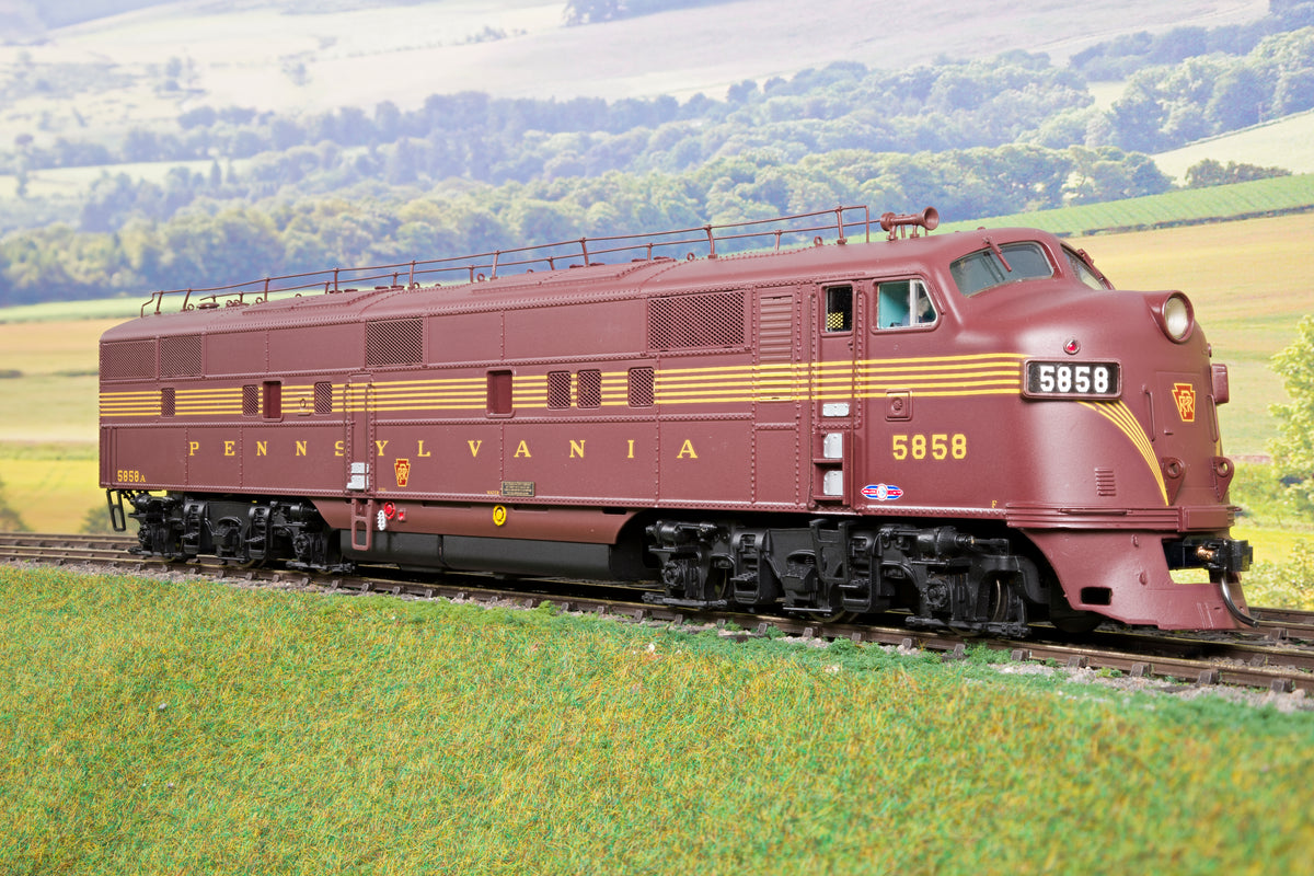 Sunset Models O Gauge PRR EMD E7 Diesel A Unit '5858' DCC Sound!