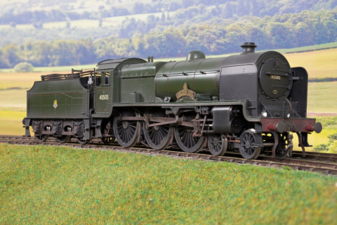 Sancheng/Tower Models 7mm Finescale O Gauge BR Lined Green Patriot 4-6-0 '45505' 'The Royal Army Ordnance Corps'