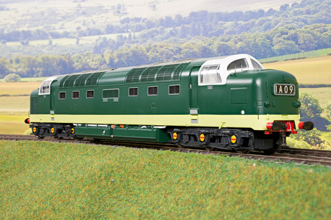 Heljan 7mm Finescale O Gauge 55021 BR Green Class 55 Deltic