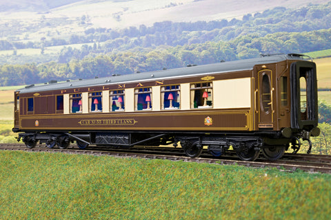 Golden Age Models 7mm Finescale O Gauge Pullman 'Car No.55 Third Class'