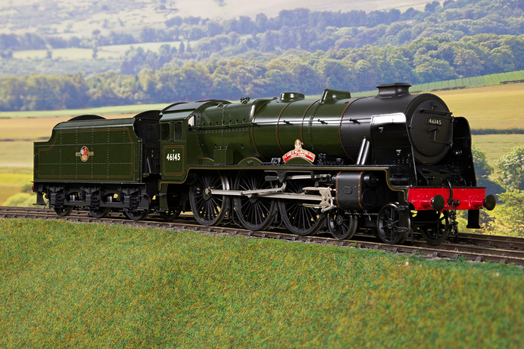 Sancheng 7mm Finescale O Gauge BR Lined Green Royal Scot 4-6-0 '46145' 'The Duke of Wellington's Regt. (West Riding)'