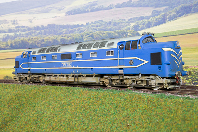 LH Loveless DP1 Deltic Prototype, DCC Sound & Weathered!