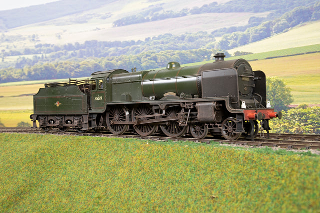Sancheng/Finescale Brass 7mm Finescale O Gauge BR Lined Green Patriot '45519' 'Lady Godiva', Weathered