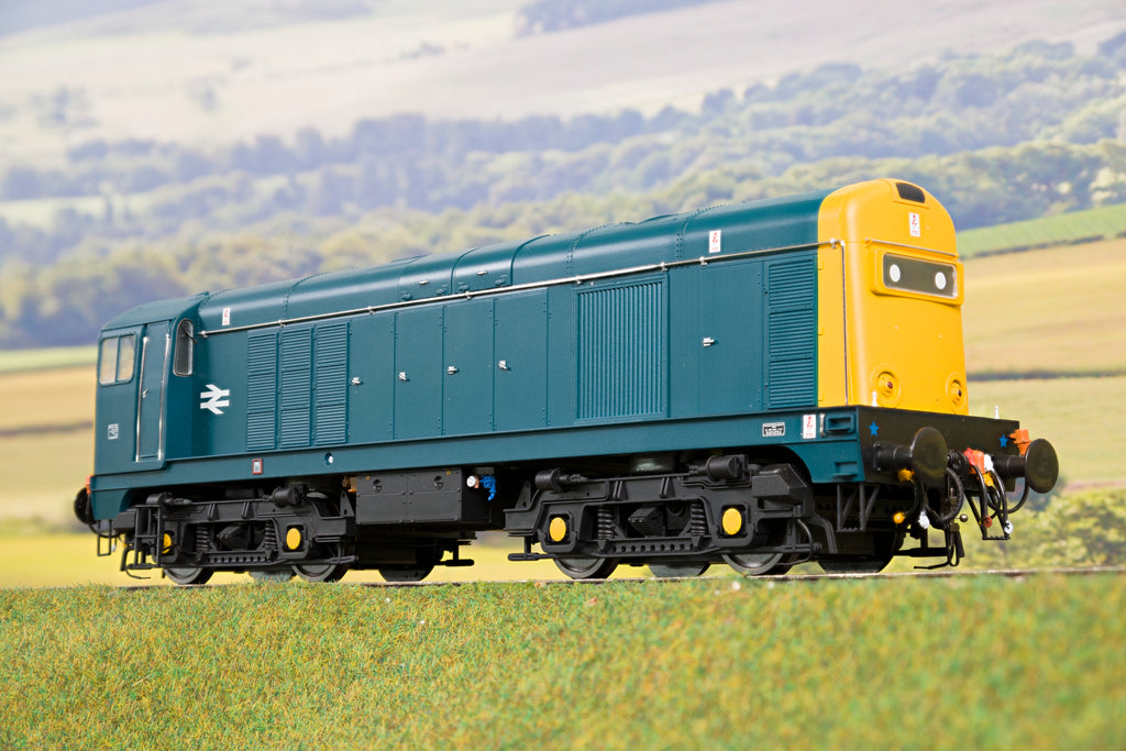 Heljan 7mm Finescale O Gauge 2013 Class 20 Blue with Full Yellow Ends