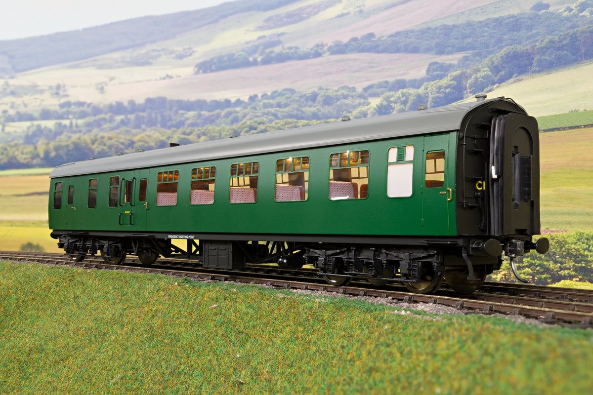 Darstaed D21-3-12 Finescale O Gauge BR Mk1 BSO (Brake Second Open), SR Green