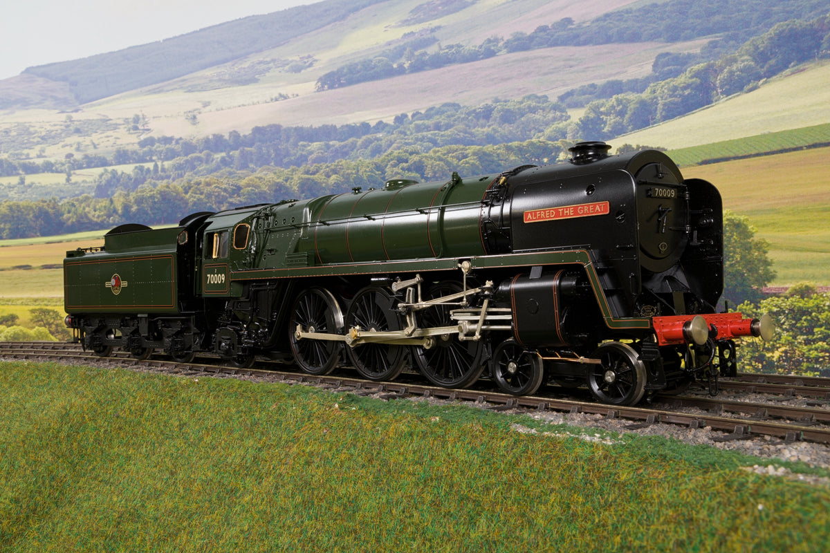 55H Finescale O Gauge BR Lined Green Standard Class 7 4-6-2 '70009' 'Alfred the Great'