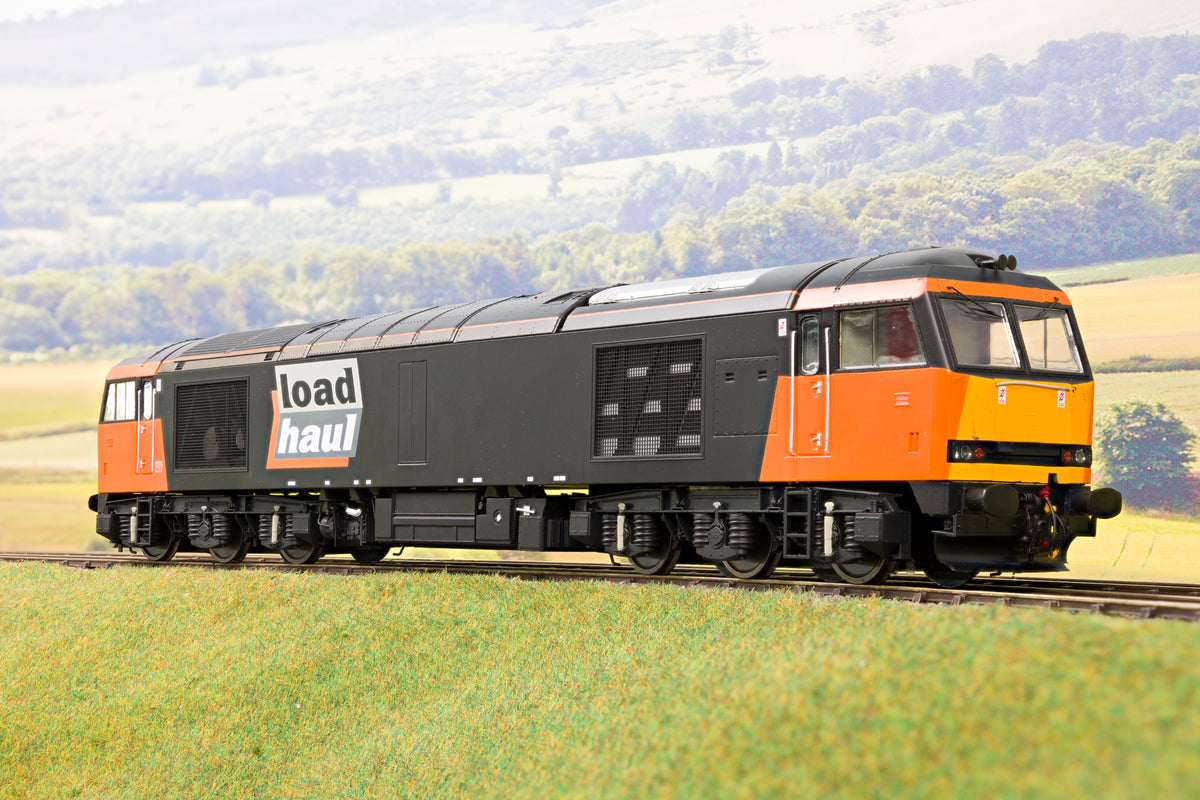 Heljan 6001 O Gauge 'Load Haul' Class 60, Un-Numbered