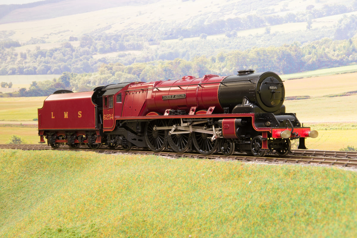 Sancheng Finescale O Gauge LMS Lined Maroon Duchess '6234' 'Duchess of Abercorn'