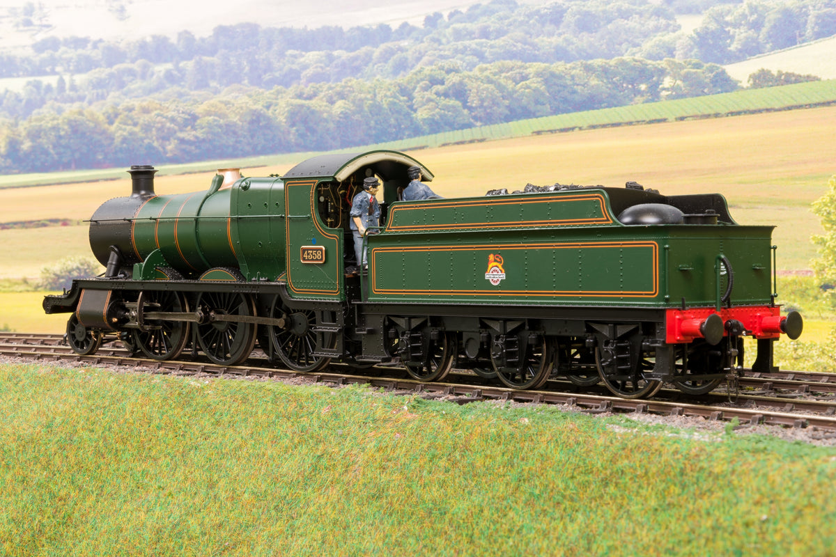 Heljan Finescale O Gauge 4311 BR Lined Green 43xx '4358', DCC Sound
