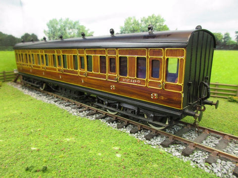 7mm O Gauge Finescale Kit/Scratch Built LNER Teak Gresley Suburban '22104' 1st/3rd