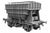 Ellis Clark Trains E73-1-4A Finescale O Gauge Presflo Wagon Plain Grey 'PF163' TOPS, (Pre-order)