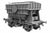 Ellis Clark Trains E73-1-6U Finescale O Gauge Presflo Wagon 'Blue Circle' 'Un-numbered', Bauxite (Pre-order)