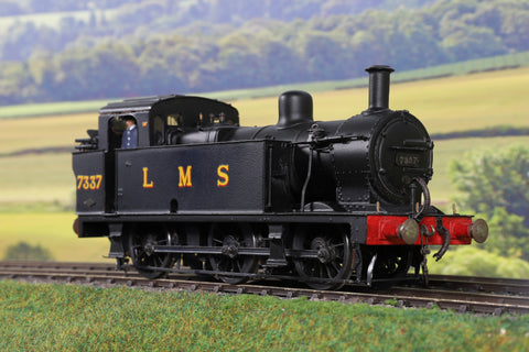 7mm Finescale O Gauge Kit Built LMS Black 3F Jinty 0-6-0T '7337'