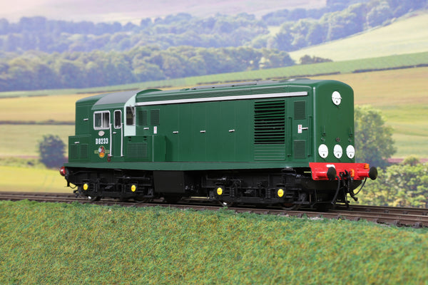 Little Loco Company 7mm Finescale O Gauge BR Green Class 15 'D8233' Limited Edition DCC Sound!