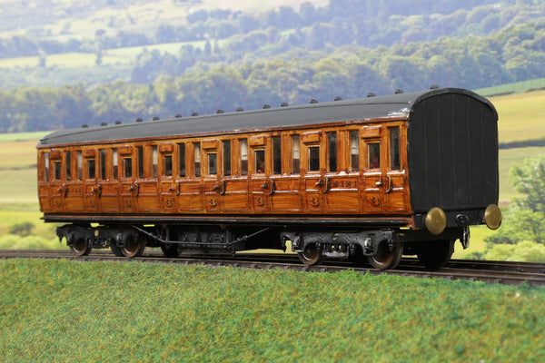 7mm Finescale O Gauge Fred Newman LNER Teak Third Class Suburban Coach '32121'