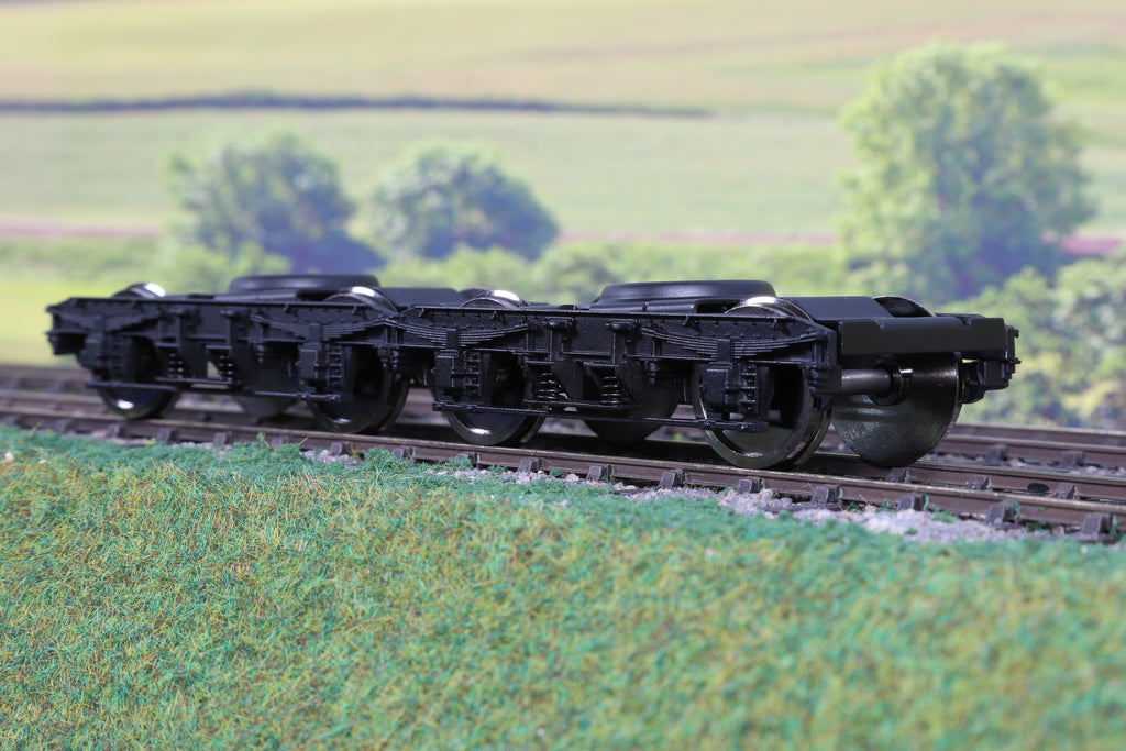 Darstaed 7mm Finescale O Gauge Pair of Newly Tooled Mk1 Bogies & Wheels