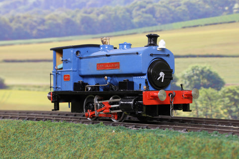 7mm Finescale O Gauge Kit Built Andrew Barclay 0-4-0ST 'No.1' 'Lady Lilian'