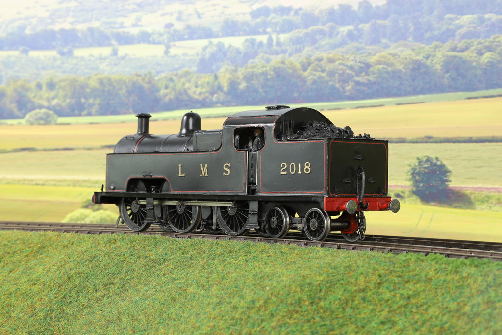 7mm Finescale O Gauge Scratch Built LMS 0-6-4 Flat Iron '2018'
