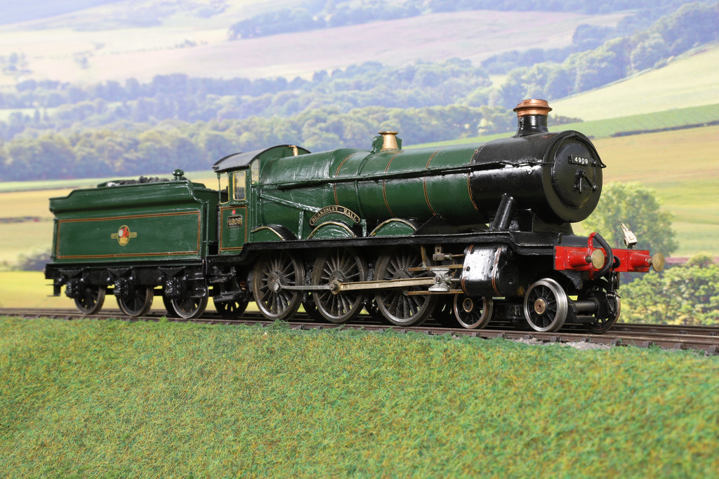 7mm Finescale O Gauge Kit Built BR Lined Green Hall Class 4-6-0 '4909' 'Blakesley Hall'