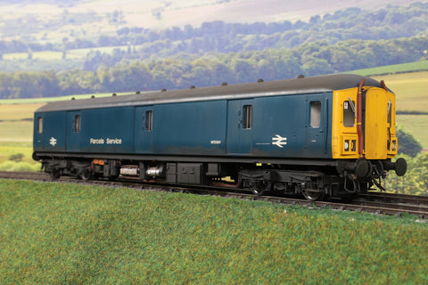 Heljan 7mm Finescale O Gauge 8914 BR Blue Parcels Service Class 128 DPU 'W55991' Weathered!