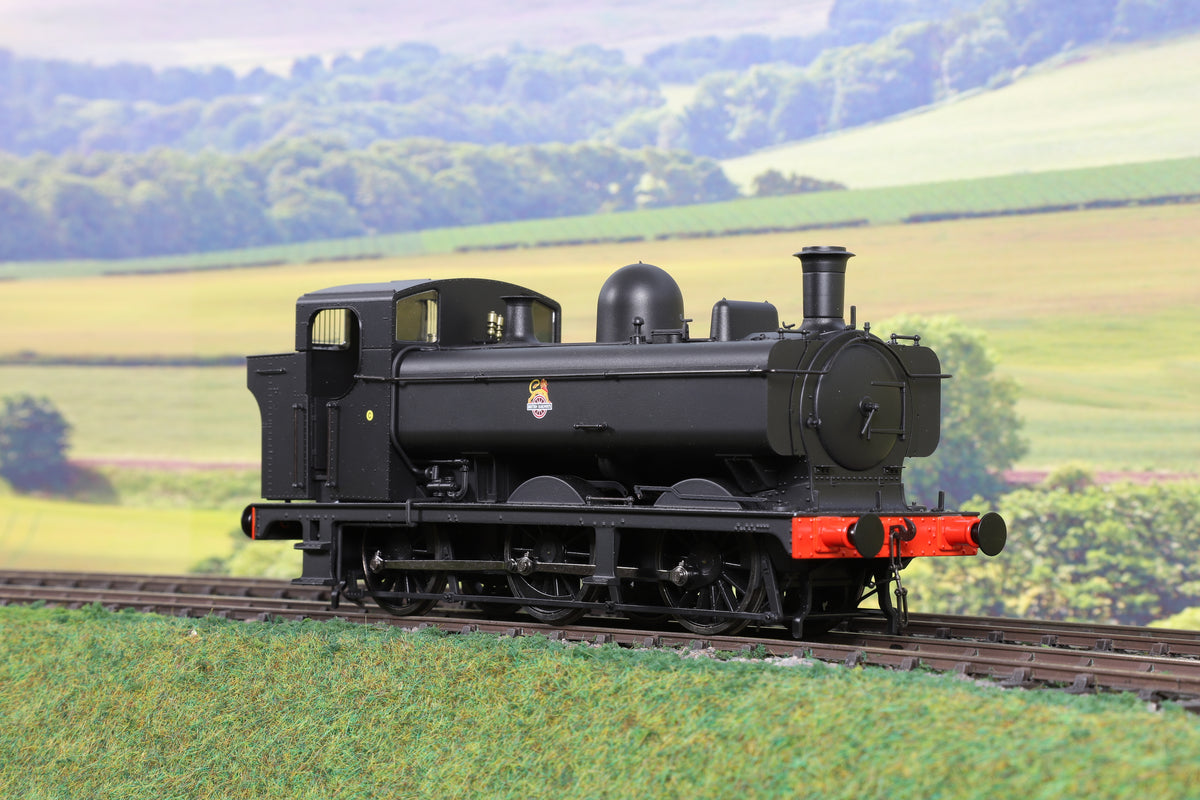 Minerva Model Railways 7mm Finescale O Gauge MOS-8BET BR Black 8750 Class 0-6-0PT
