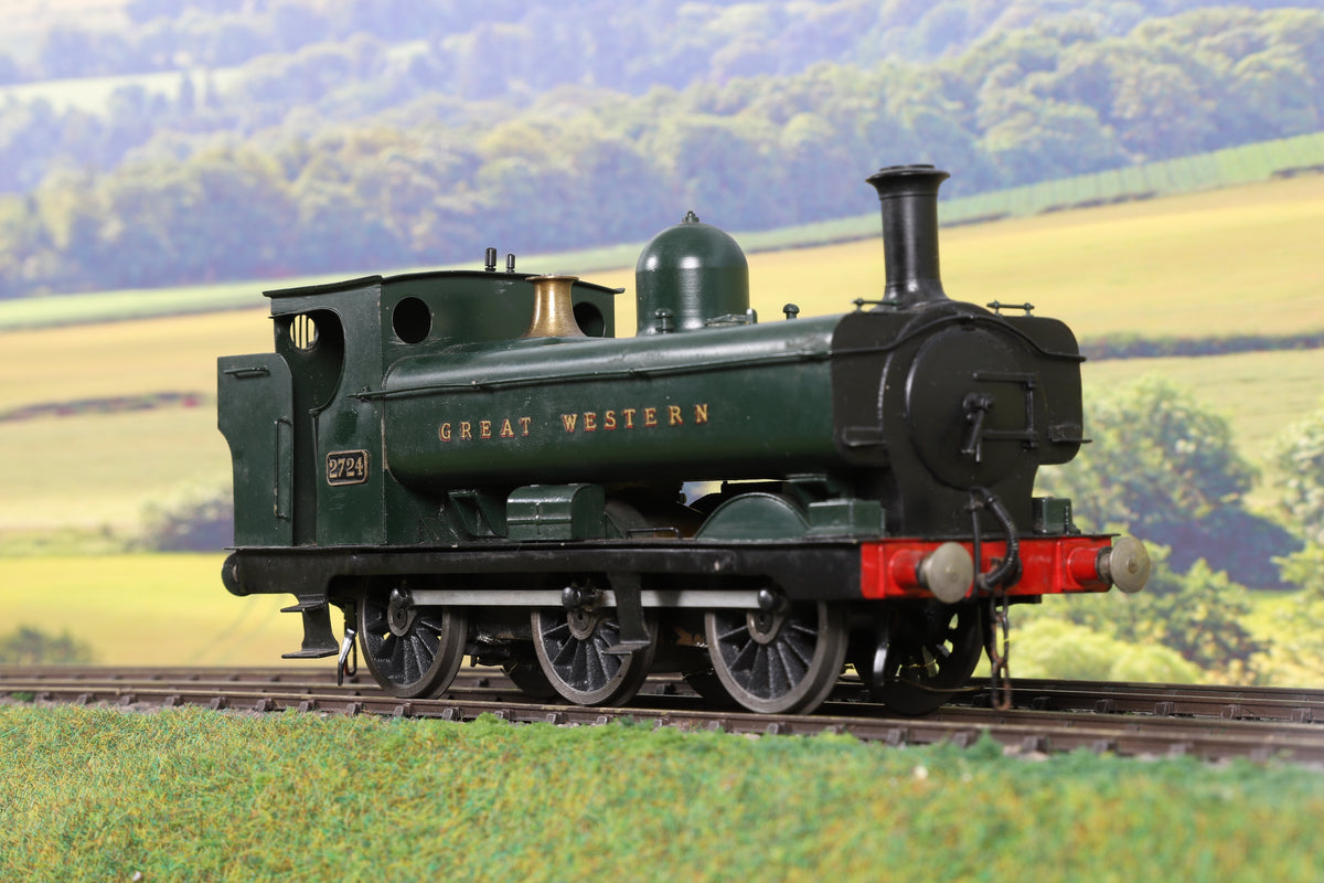 7mm Finescale O Gauge Kit Built GWR 2721 Class 0-6-0PT '2724'