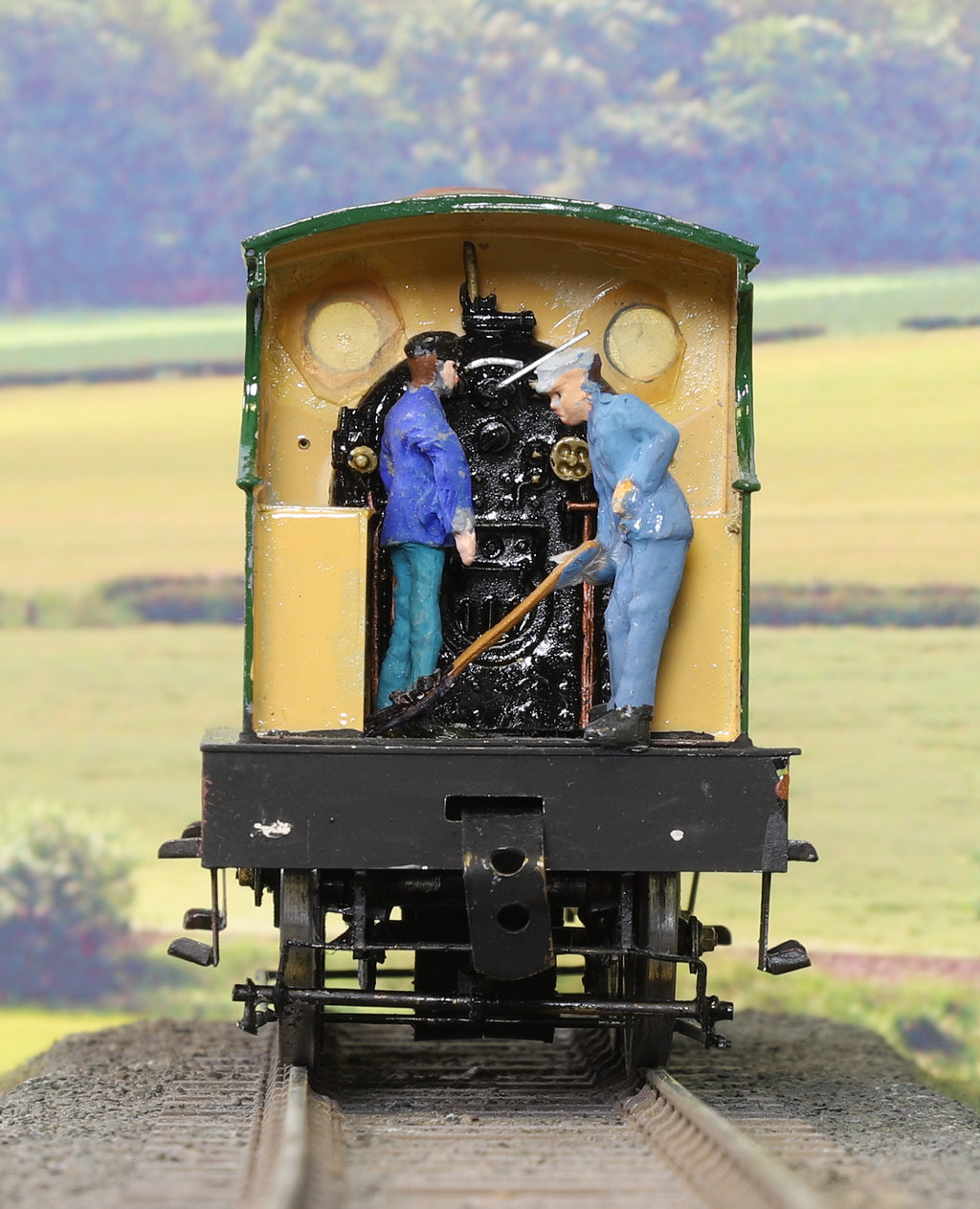 7mm Finescale O Gauge Kit Built SE&CR Green 0-6-0 Steam Locomotive '657'